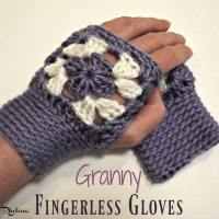Granny Fingerless Gloves