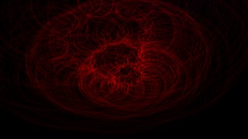 A light painting made with a laser