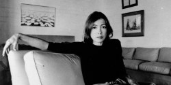 Photograph of author, Joan Didion
