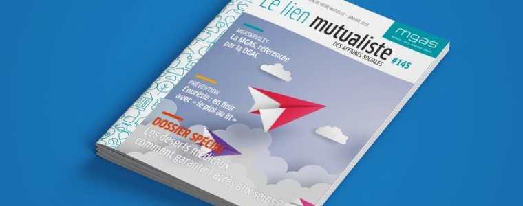 Le lien mutualiste est la revue d'information des adhérents de la mutuelle MGAS.