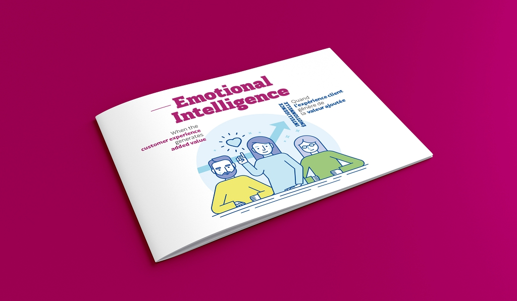 Rhetorike a conçu et réalisé le livre blanc Emotional Intelligence d'Activeo.