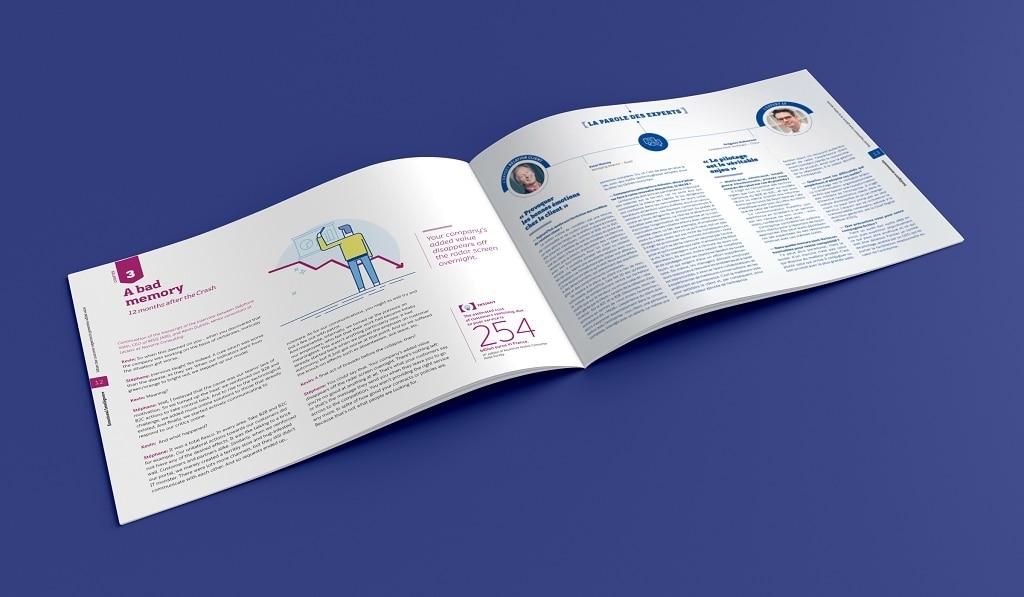 Le storytelling du livre blanc sert à mettre en valeur les interventions des experts.