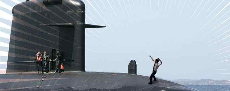 Pour regonfler votre ethos, n'hésitez pas à lancer un sous-marin nucléaire.