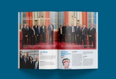 Les photographies des membres du conseil d'administration ont été réalisées par un photographe professionnel