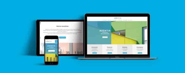 L'agence Rhetorike a conçu et réalisé le nouveau site internet du bailleur social Axentia, ESH.