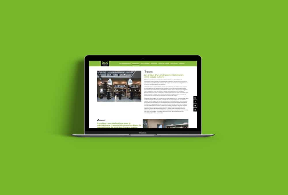 L'agence Rhetorike a réalisé plusieurs textes SEO pour B Comme Design.