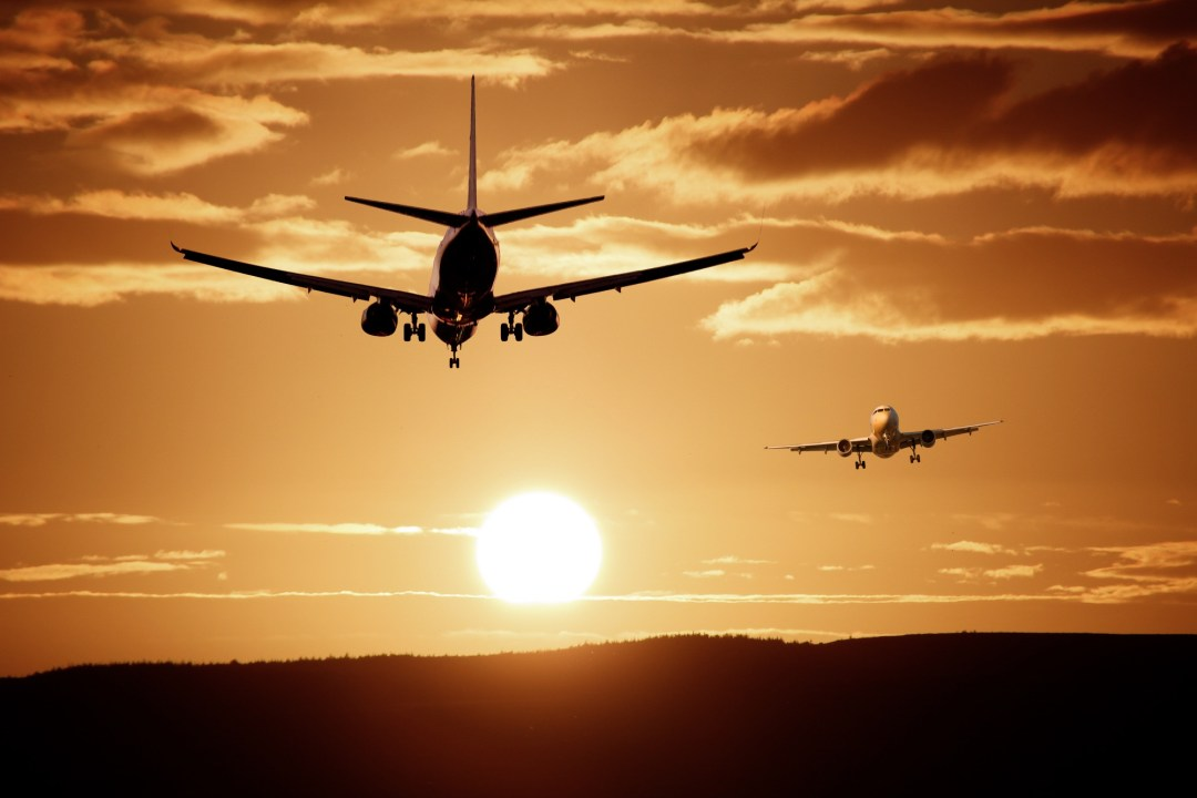 Airplane in the sunset: How to travel with medications