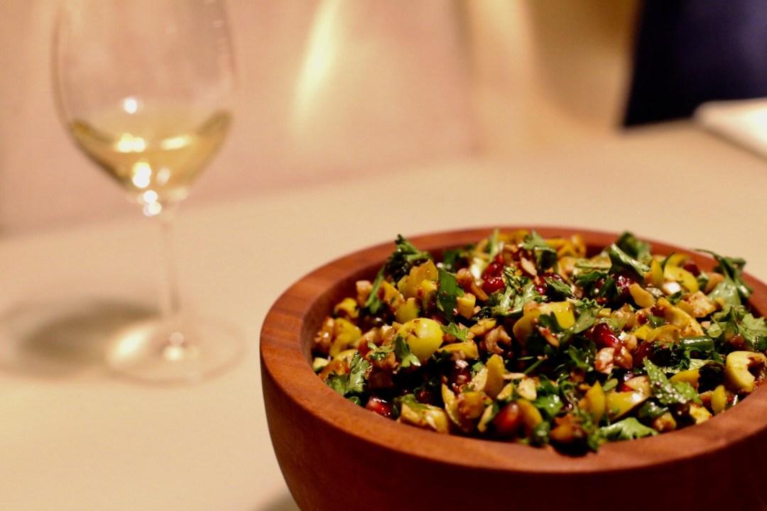 Pomegranate Olive Salad