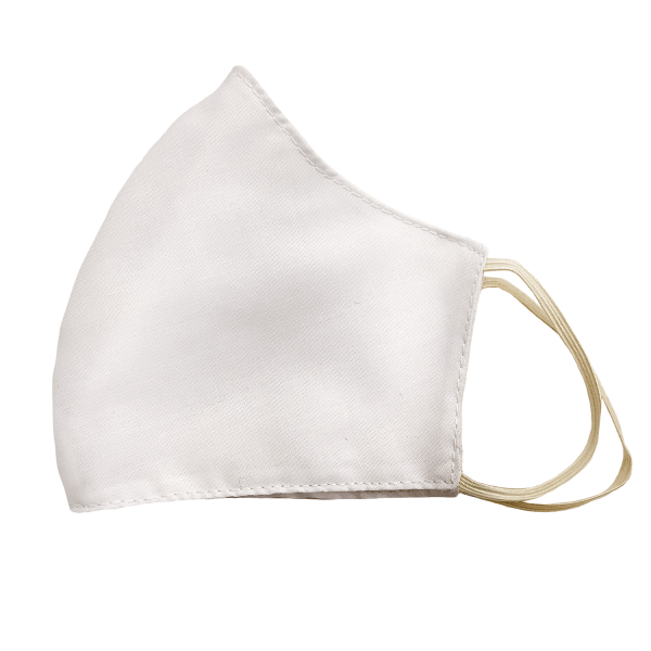 rhezz plain white face mask
