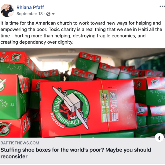 The Operation Christmas Child Controversy & New Ideas
