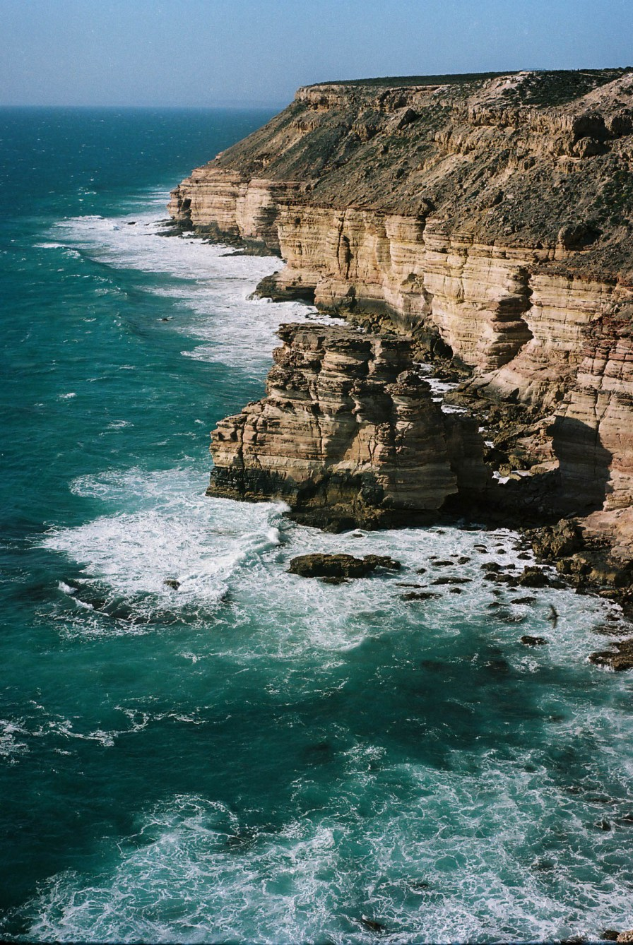 Kalbarri Coastal Cliffs Analogue Travel Photographer