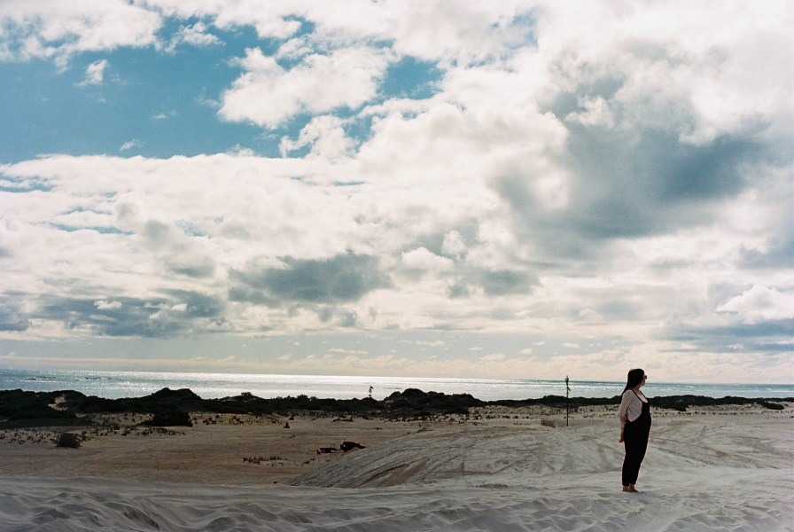 Lancelin Sand Dunes Roadtrip Ocean Analogue Travel Photographer