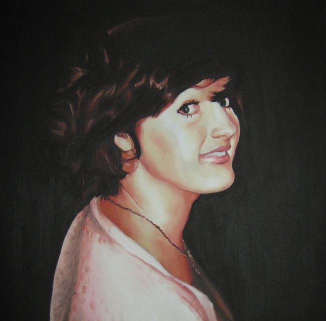 oil paint portrait