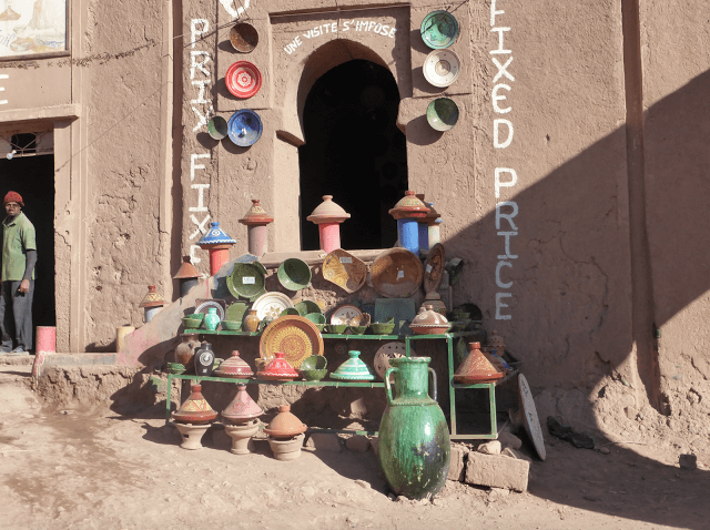 pottery making in morocco