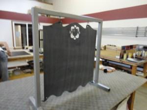 Hanging Chalkboard range signs