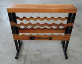 Sand & Seed rack ( WIne Rack Style