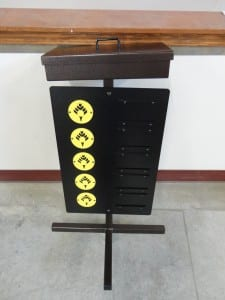 Par 3 Sign with Ball Box & Lid