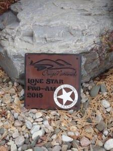 Custom Golf Award Plaque -Osage National