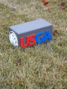 Custom Tee Marker--USGA