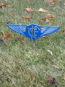 Custom Tee Marker -Yolo Fliers (blue