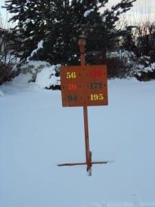 Custom Tee Sign -Hideaway