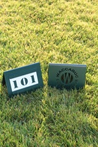Golf Par 3 Signs -Waccabuc