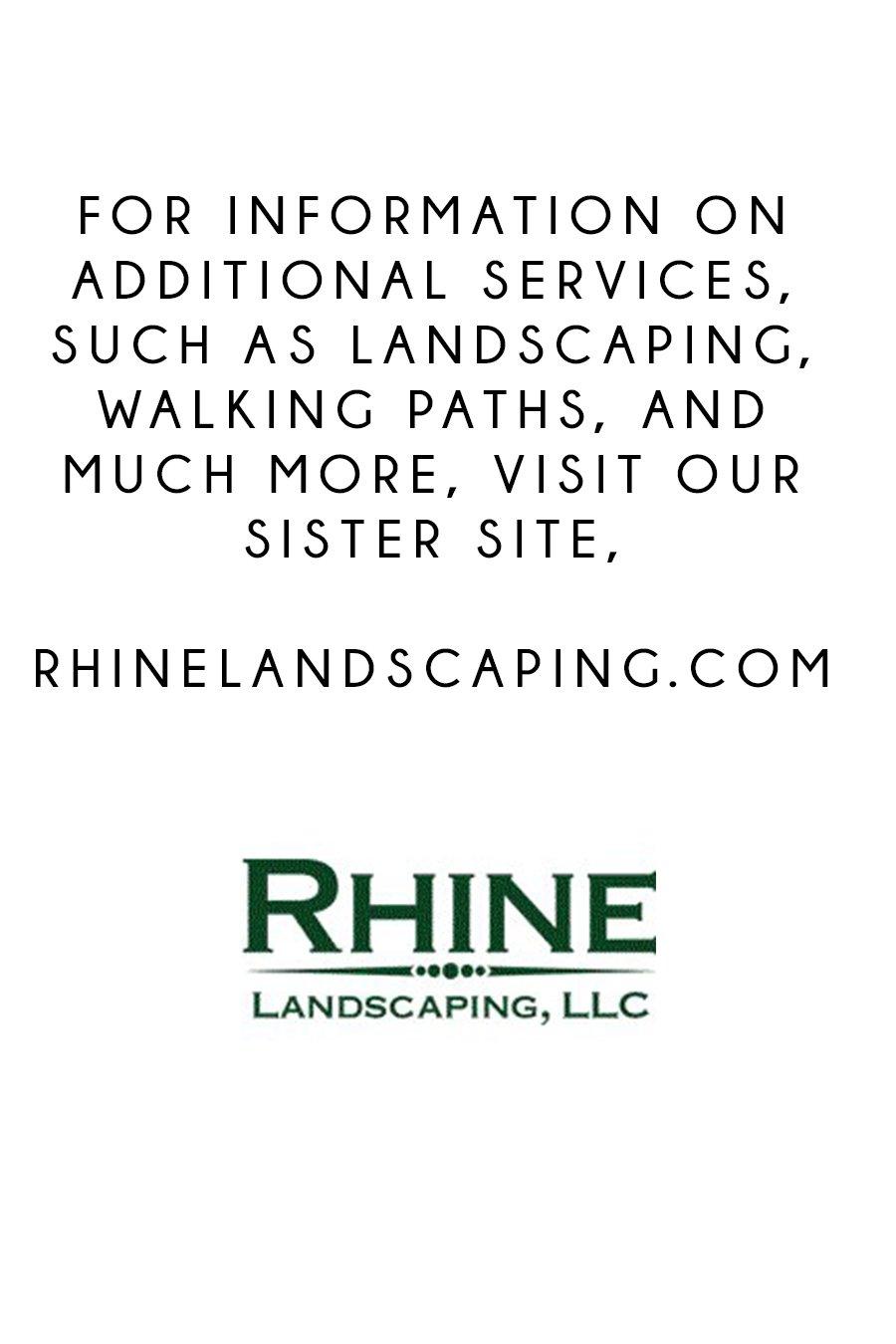 rhine landscaping