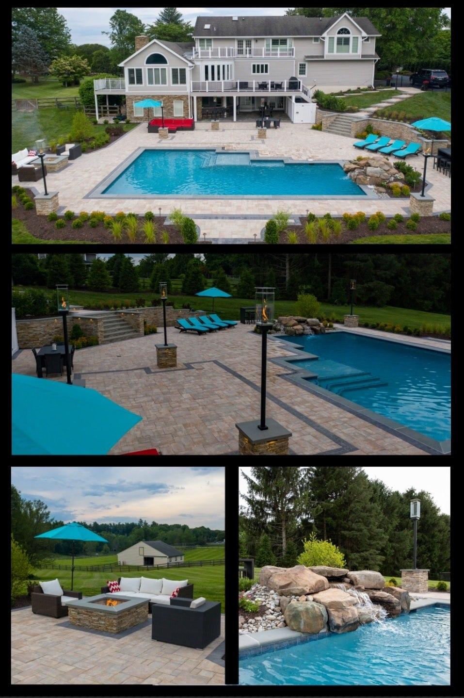 howard county swimming pool, patio builder