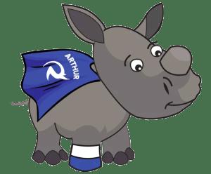 arthur the brave rhino