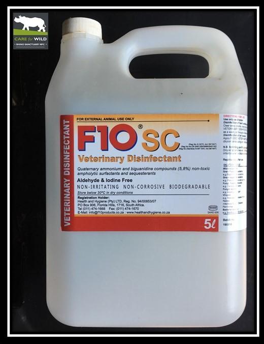 F10SC Veterinary Disinfectant