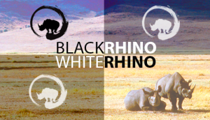 Black Rhino, White Rhino