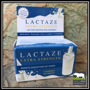 RhinoSOS, Lactaze tablets