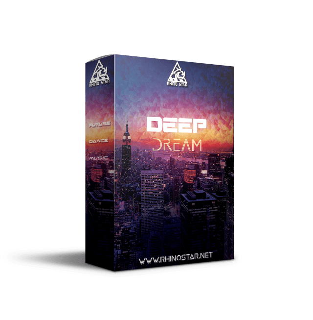 Deep Dream Artwork sample pack of 5 deep house construction kits with loops, one shots and midi files