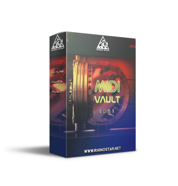 MIDI Vault EDM1 midi files sample pack for EDM chord Progression, Melodies and Bass Lines