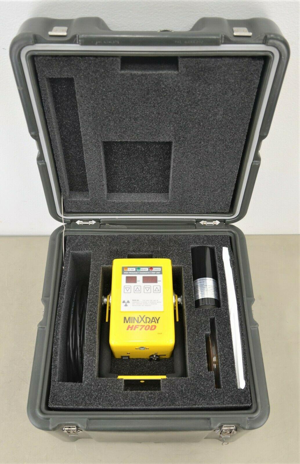 Toshiba Minxray Hf70dul Type A Portable Dental X Ray Unit