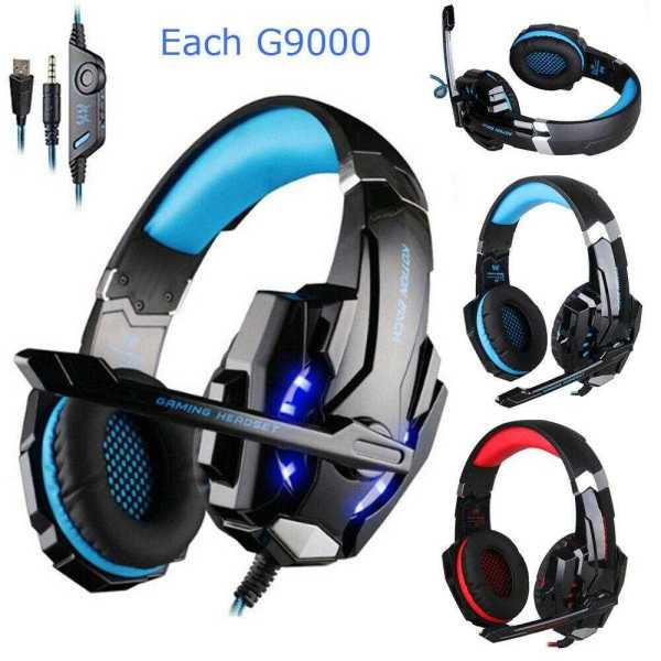 G9000 Gaming Headset With Mic Ear Headphones - RHIZMALL.PK Online Shopping Store.