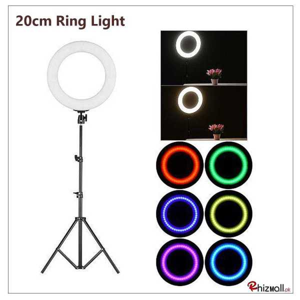 Neewer 19-inch RGB LED Ring Light with tripod stand price in pakistan
