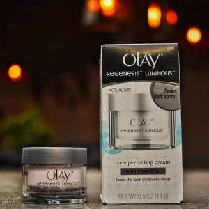Olay Regenerists Luminous Tone Perfecting Cream and Sun Spot Remover
