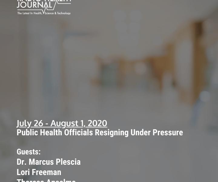 Public Health Officials Resigning Under Pressure