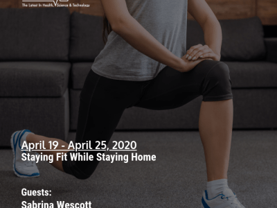 Staying Fit While Staying Home