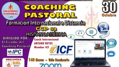 FORMACIÓN INTERNACIONAL EN COACHING PASTORAL – 140 HORAS