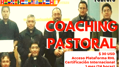 CURSO INTERNACIONAL DE COACHING PASTORAL (20 de Febrero)