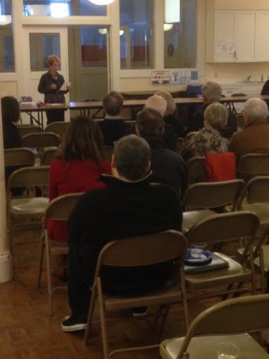 Tina Moylan at Annual Meeting