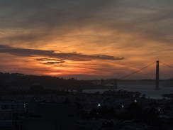 A Great Sunset from Russian Hill