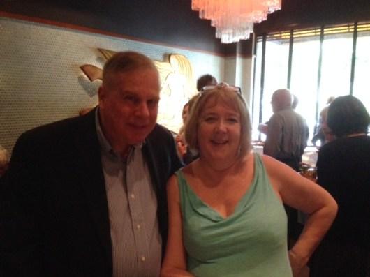 Ron and Michele Goodby at Original Joe's