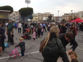 National Night Out at Joe DiMaggio Playground