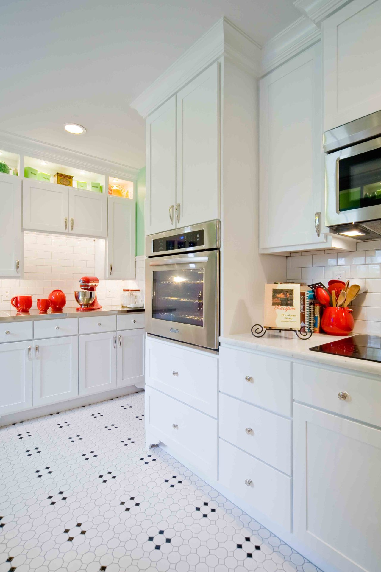 Vintage Charm Kitchen Remodel - Rhoads Design & Construction