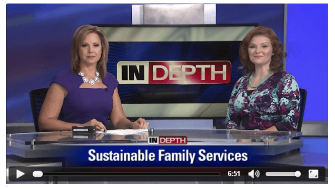 Bay News 9  Ashley Rhodes Courter talks about Sustainable Family Services