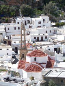 Eglise de la Vierge à Lindos
