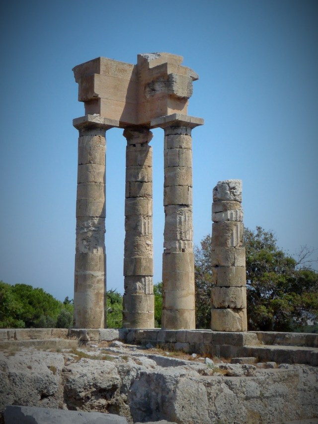 Temple d'Apollon Rhodes